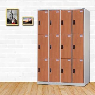 【時尚屋】丹尼爾多用途塑鋼製12格置物櫃 RU6-KL-E5512FF 免運費(置物櫃)