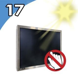 【Nextech】M系列 17吋-室外型 工控螢幕-無觸控(高亮度1000nits)