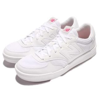 【NEW BALANCE】休閒鞋 300 運動 復古 女鞋 紐巴倫 基本款 彩色鞋墊 復刻N字鞋 全白 女(WRT300CGD)