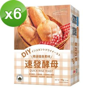 【日正食品】速發酵母(12g*4入)X6入