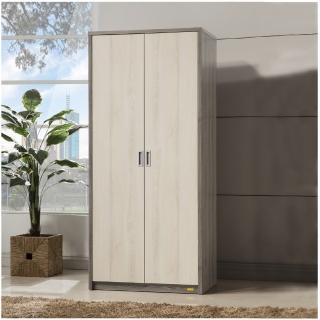 【Ardent】多功能雙門衣櫃(2.7尺衣櫃/雙門衣櫃)