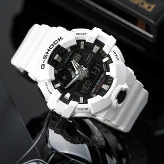 【CASIO G-SHOCK】潮流時尚耀眼運動錶(GA-700-7ADR)