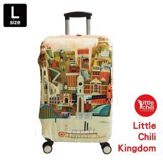 【LittleChili】行李箱套541(希臘L)