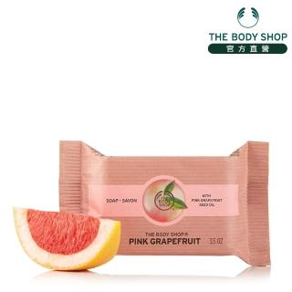 【THE BODY SHOP】粉紅葡萄柚潔膚皂(100G)