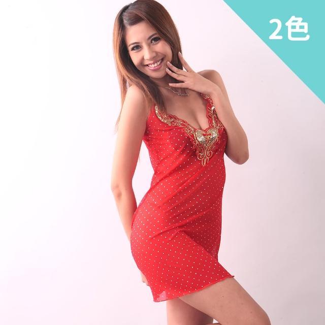 【Beauty's Secret】火熱挑逗性感薄紗睡衣(紅)