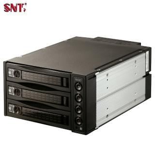 【SNT】2.5/3.5吋SAS/SATA三槽硬碟抽取模組(ST-2131SS)