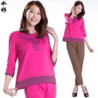 【水衫】絢彩純棉質感上衣六件組(E03-04)