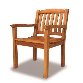 【BROTHER兄弟牌】西雅圖柚木單人椅(印尼柚木)