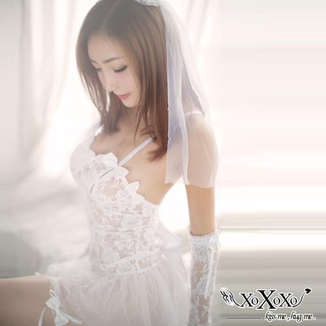 【XOXOXO】新娘嫁紗五件式角色服(純潔白)