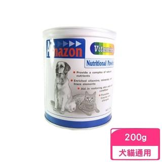 【Amazon 愛美康】天然犬貓用綜合維他命 200g(NW-AM-01)
