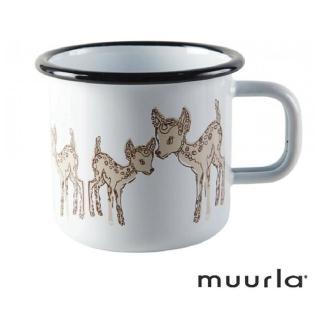 【芬蘭Muurla】小鹿琺瑯馬克杯370cc(咖啡杯/琺瑯杯)