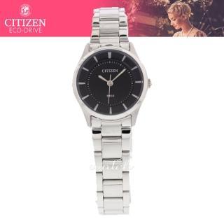 【CITIZEN 日系星辰】約會首選_簡單大方_不鏽鋼錶帶_礦物玻璃_氣質指針女錶(ER0207-50E)