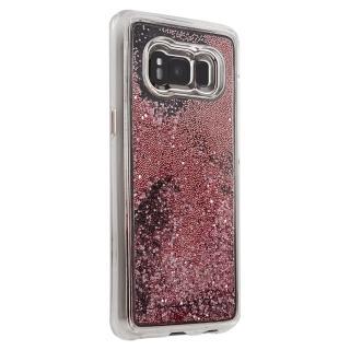 【美國 Case-Mate】Samsung Galaxy S8 Waterfall(亮粉瀑布 - 玫瑰金色)
