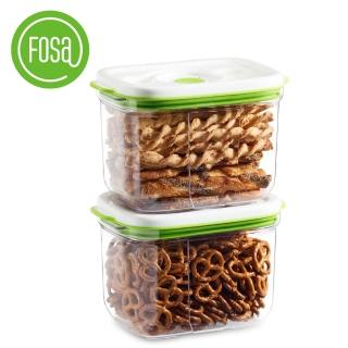 【FOSA真鮮寶】方型保鮮盒2300ml-2入(HFA22300快速到貨)