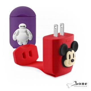 【Bone】智能快速充電器 - 米奇 / 杯麵(迪士尼授權 造型充電器)