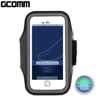 【GCOMM】指紋辨識 萊卡透氣親膚 5.7吋 運動臂帶(指紋辨識 萊卡透氣親膚)