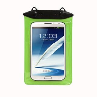 【正品Tteoobl】T-11B 智慧型手機耐壓20米防水袋 6.1吋/臂掛式(綠)