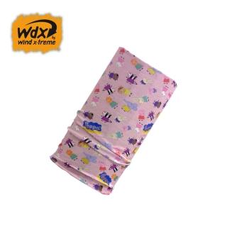 【Wind x-treme】兒童粉紅豬多功能頭巾 COOL Wind 6752(帽子、防紫外線、抗菌、防曬頭巾)
