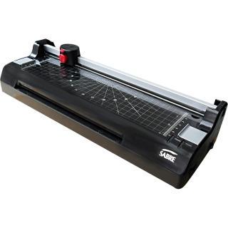 【SABRE騎士牌】SL488 電子溫控裁刀A4護貝機(SL488)