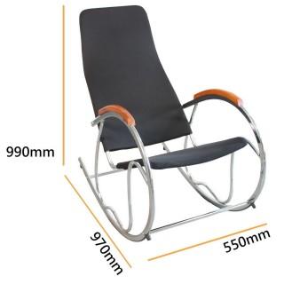 【藤立方Rattan Cube】立體網眼布休閒椅-黑色
