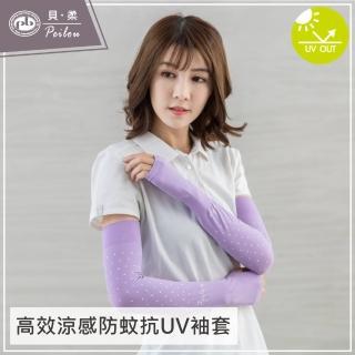 【PEILOU】高效涼感防蚊抗UV袖套(點點-12色)