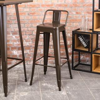 【Bernice】艾客工業風吧台椅/高椅/單椅