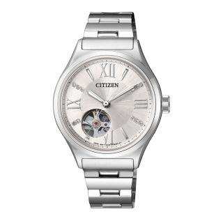 【CITIZEN 星辰】點綴星光自動上鍊機械女錶(PC1001-53A)