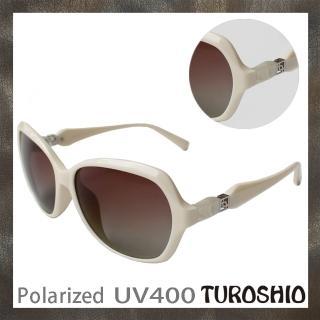 【Turoshio】TR90 偏光太陽眼鏡 H14010 C1白 贈鏡盒、拭鏡袋、多功能螺絲起子、偏光測試片(偏光太陽眼鏡)