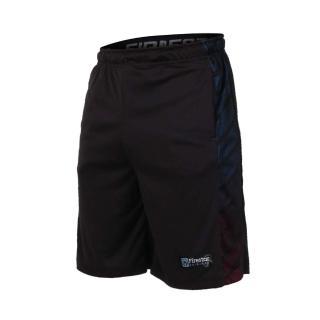 【FIRESTAR】男吸排籃球短褲-慢跑 路跑 五分褲 黑(B7602-10)