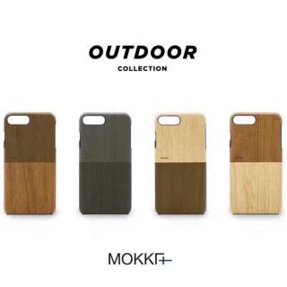 【Mokka】IPhone 7 4.7 時尚木紋手工拼接手機殼(手工背蓋 皮背蓋)