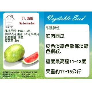 【蔬菜工坊】I01.西瓜種子