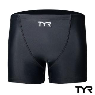 【美國TYR】Solid Boxer男用泳褲(四角款-黑)