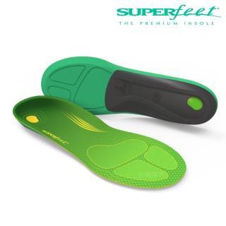 【美國SUPERfeet】碳纖維路跑鞋墊(青綠色)