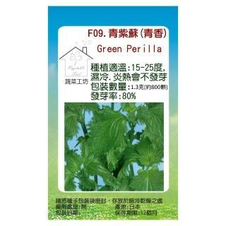 【蔬菜工坊】F09.青紫蘇種子(青香)
