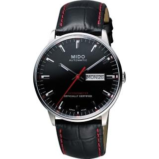 【MIDO】美度 Commander II指揮官系列機械腕錶-黑/40mm(M0214311605100)