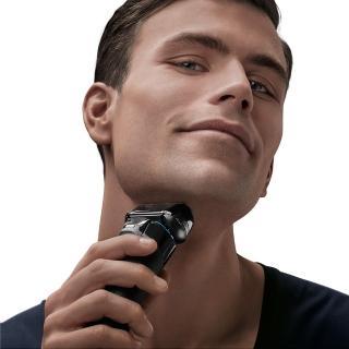 【德國百靈BRAUN】5系列親膚靈動貼面電動刮鬍刀/電鬍刀 5195cc(德國製造※一日完修VIP服務)