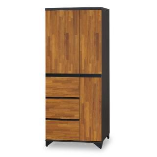 【時尚屋】海灣三抽衣櫥 NM7-20-2(免運費 免組裝 臥室系列 衣櫥)