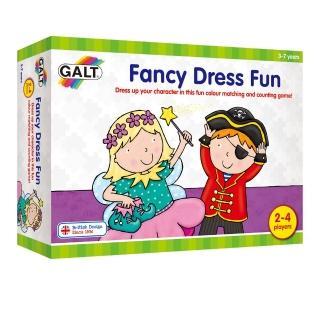 【英國 GALT】桌遊-變裝遊戲(幼兒桌遊入門首選-數量認知遊戲)