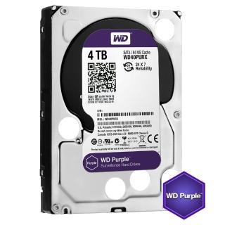 【WD】40PURZ 紫標 4TB 3.5吋監控系統硬碟