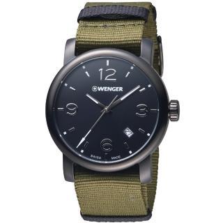 【瑞士 WENGER】Urban 都會系列 街頭美學時尚腕錶(60.1041.130)