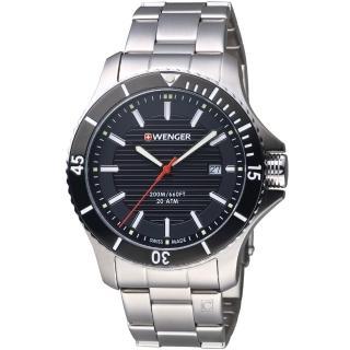【瑞士WENGER】Seaforce海勢系列 征服怒海潛水腕錶(01.0641.118)