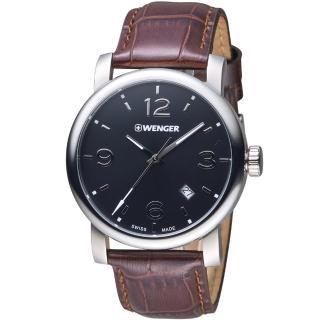 ~瑞士WENGER~Urban 都會系列 都市美學紳士腕錶 01.1041.128
