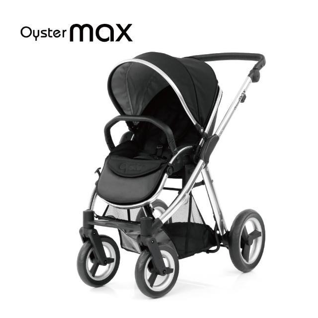 【英國 Oyster2】MAX雙子星嬰幼兒手推車(經典黑)