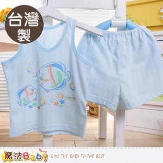 【魔法Baby】台灣製兒童純棉居家背心套裝(k50460)