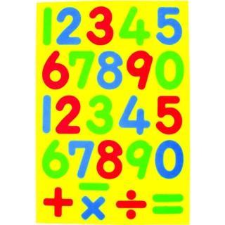 【成功】2150C彩色數字幼教磁鐵板