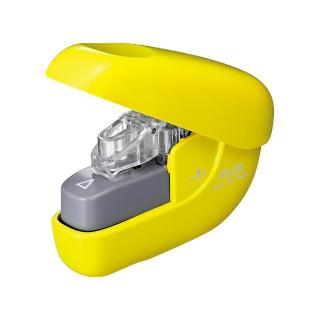 【普樂士】PLUS SL-106NB無針訂書機6枚 黃