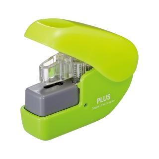 【普樂士】PLUS SL-104NB無針訂書機4枚 綠