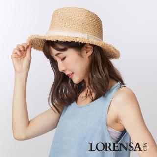 【Lorensa蘿芮】拉菲亞草南島渡假風格遮陽草帽