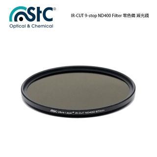 【STC】IR-CUT 9-stop ND400 Filter(67mm 零色偏ND400減光鏡)