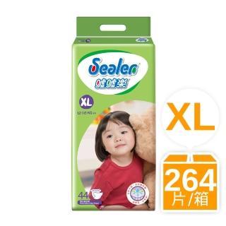 箱購-噓噓樂輕柔乾爽 XL44片x6包